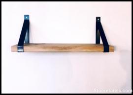 stalen strip met wandplank