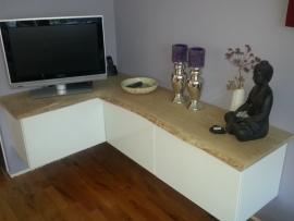 TER INSPIRATIE: meubel mooi afgemaakt met massief hout