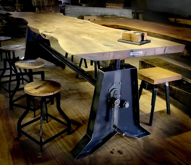 Hoog Laag tafel (Model : rechthoek,1Blad soort: Zijde