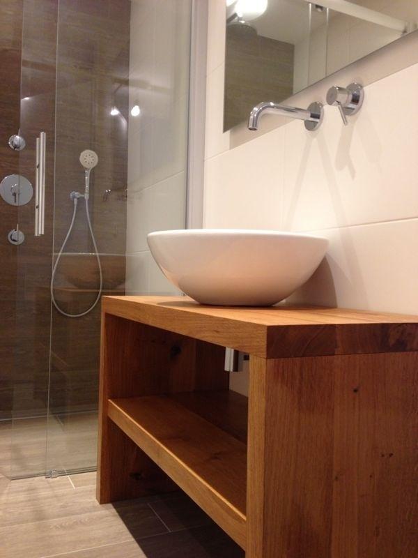 Eiken badkamermeubel