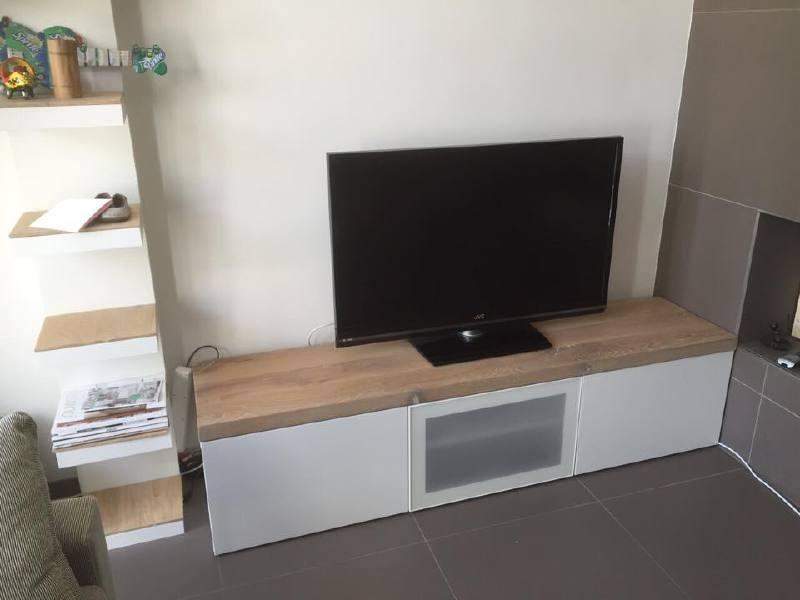TV meubel afwerking