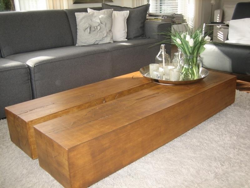 Ongekend salontafels | StoereTafels.com, massief eiken tafels en meer RV-73