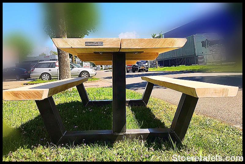 picknicktafel industrieel