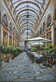 Schilderij passage