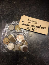 Brocante oude munten