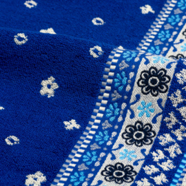 Bunzlau castle handdoek fresh koningsblauw