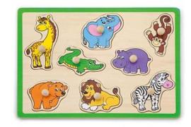 Puzzel dieren