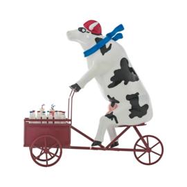 Cow parade Lait triporteur extra large