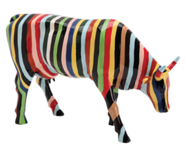 Cow parade Striped large