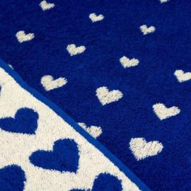 Bunzlau castle handdoek hearts koningsblauw