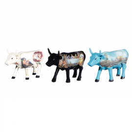 Cow parade Artpack Italia set van 3
