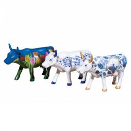 Cow parade Artpack Netherlands set van 3