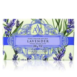 Lavendel zeepblok