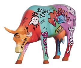 Cow parada Vaquinha do hip hop large