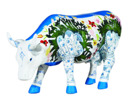 Cow parade Musselmalet medium