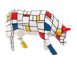 Cow parade Moondrian medium