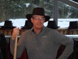 Lederen hoed