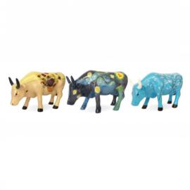Cow parade Artpack Vincent set van 3