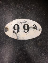 Brocante huisnummer