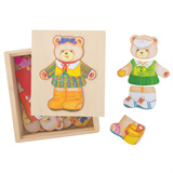 Puzzel beer meisje