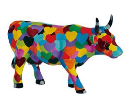 Cow parade Heartstanding medium