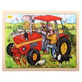 Puzzel tractor