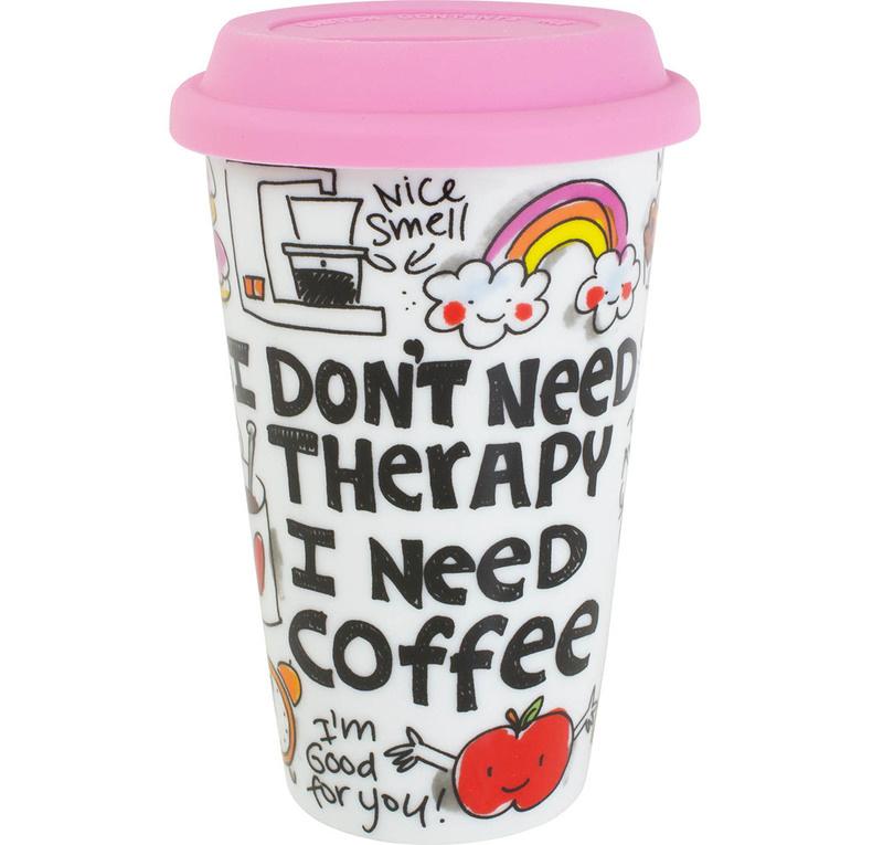 Blond koffiebeker