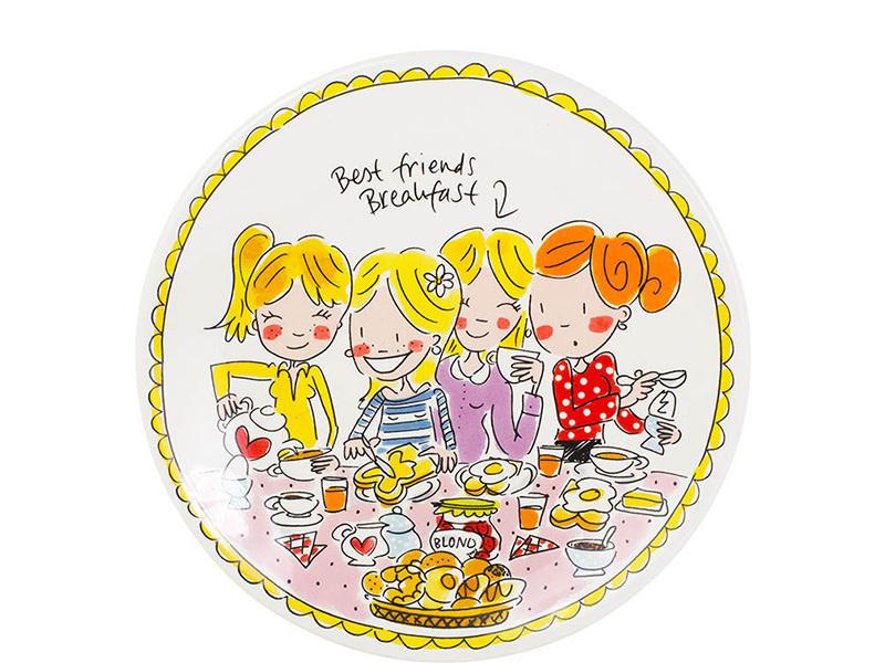 Blond bord meisjes