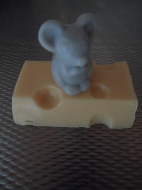 Kaas en muis zeep