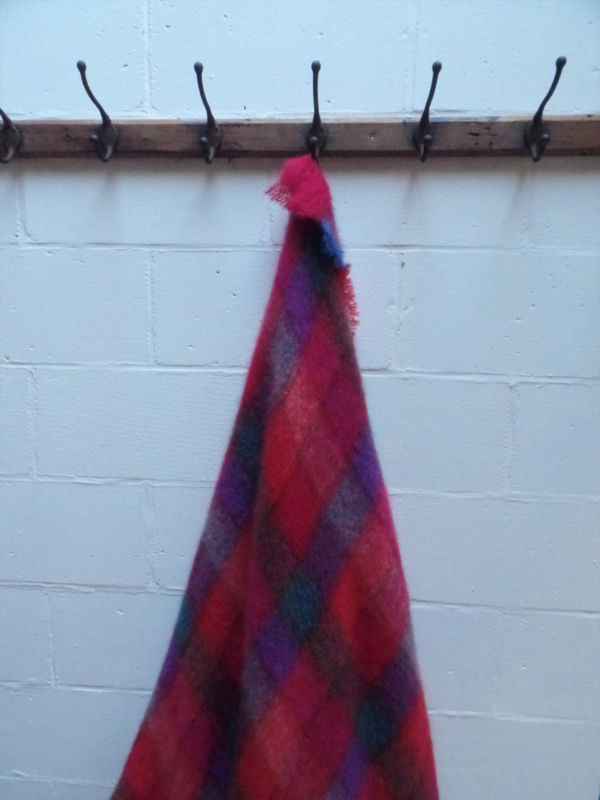 Mohair plaid