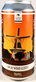 Crooked Spider ~ Of Je Wind Lust 44cl can