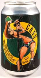 Eggens Craft Beer ~ GRN'N 33cl can