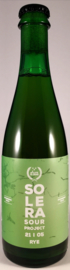 Halve Tamme ~ Solera Sour Project 21 I 05 Rye 37.5cl