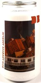 Brouwerslokaal ~ Dutch Bargain 2021 Bon Appétit, Amélie Moelleux Au Chocolat 33cl can