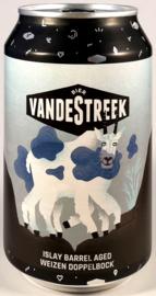 vandeStreek ~ Islay Barrel Aged Weizen Doppelbock 33 can