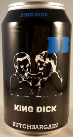 Brouwerslokaal ~ King Dick 2021 33cl can