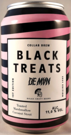 De Man / Galea Craft Beers ~ Black Treats 33cl can