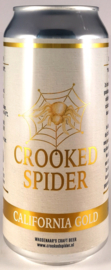 Crooked Spider ~ California Gold 44cl can