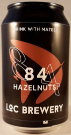 Loc Brewery ~ 84 Hazelnuts 33cl can