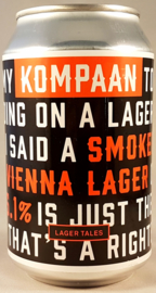 Kompaan ~ Smoked Vienna Lager 33cl can