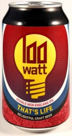 100 Watt Brewery ~ That's Life 33cl can