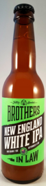 Brothers in Law ~ New England White IPA #3 33cl