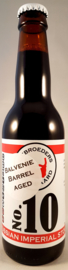 Gebroeders Roodbaard ~ No.10 Russian Imperial Stout Balvenie Barrel Aged 33cl