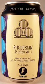 Frontaal ~ Rhodesian Japanese Whiskey BA 33cl can