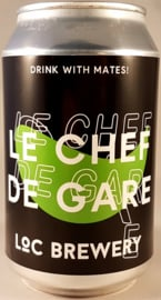 Loc Brewery ~ Le Chef de Gare Saison 33cl can
