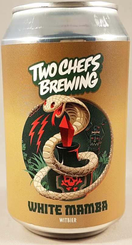 Two Chefs Brewing ~ White Mamba 33cl can