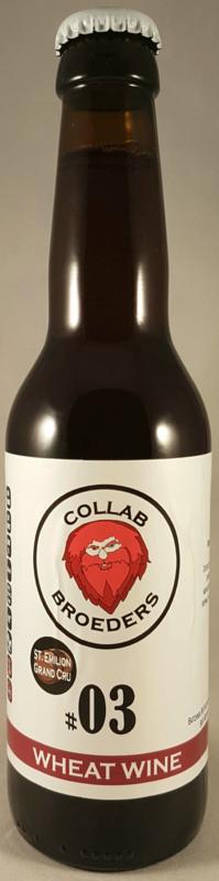 Gebroeders Roodbaard / Ebontree ~ Collab #03 Wheat Wine St. Emilion Grand Cru BA 33cl