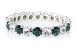 Angel bracelet Crystal / Emerald