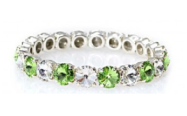 Angel bracelet Crystal / Chrysolite