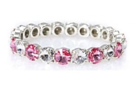 Angel bracelet Crystal / Light Rose